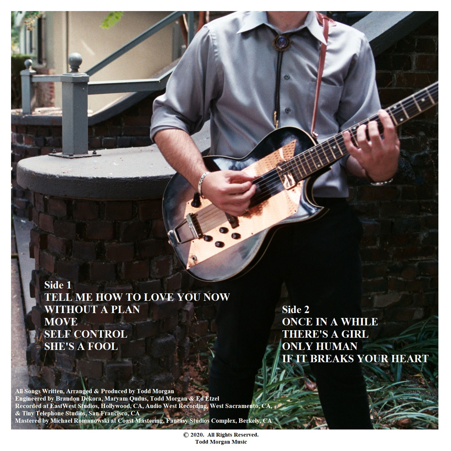 Todd Morgan - Move, Back Cover