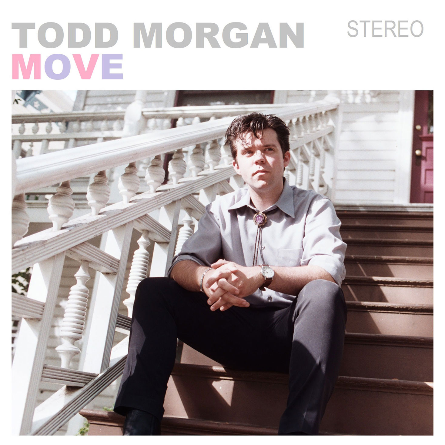 Todd Morgan - Move, Front Cover