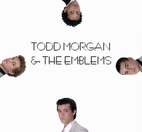 Todd Morgan and the Emblems - Self Titled, Front Cover